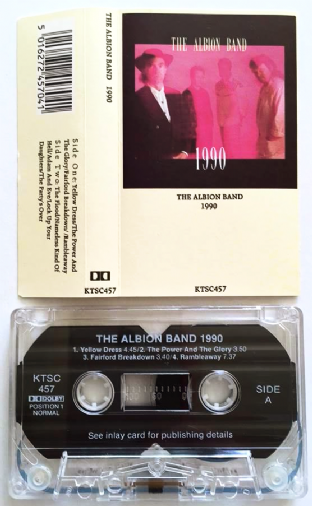 Albion Band (The) - 1990 (Cassette Album) (EX/EX)